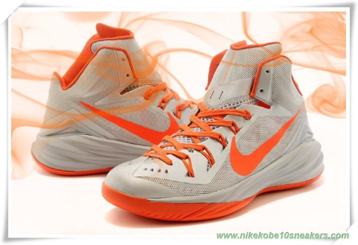 size 40 79912 bf246 Nike Hyperdunk 2014 Gray   Orange 653640-001
