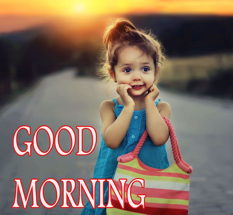 Good Morning Images With Cute Baby Wallpaper Photo Download Good Morning Images Good Morning Wallpaper Good Morning Greetings