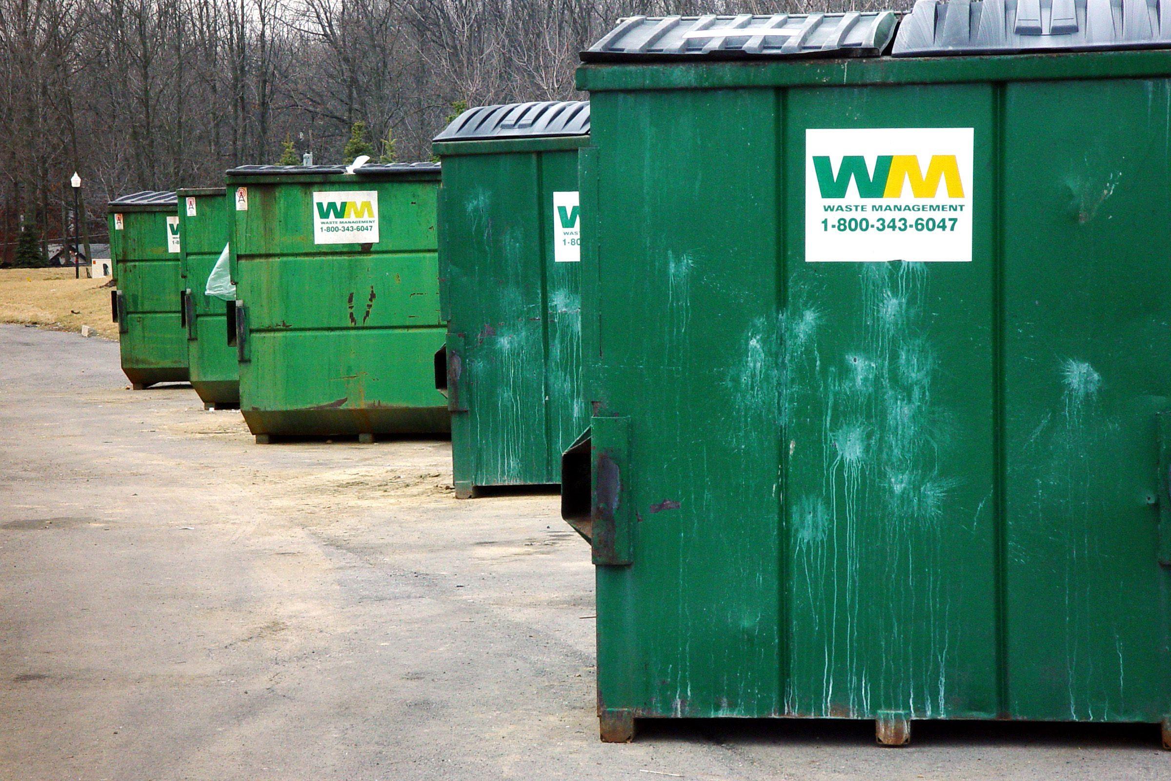 Drunk Fall Asleep In Dumpster End Up Garbage Truck Thatsjustinsane Com Diving Backyard Office On Essay