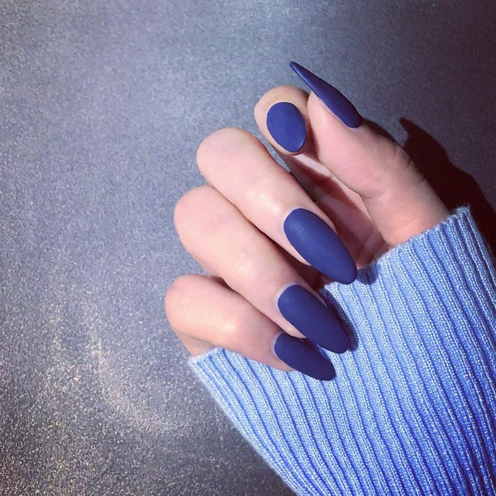 90+ Cool Matte Nail Art Designs To Elevate Your Look 2020