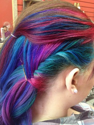 colorful hair styles partway thru s updo flickr photo my 2257 | 153fb06b2e299516ffaa6cbc2257dd6e