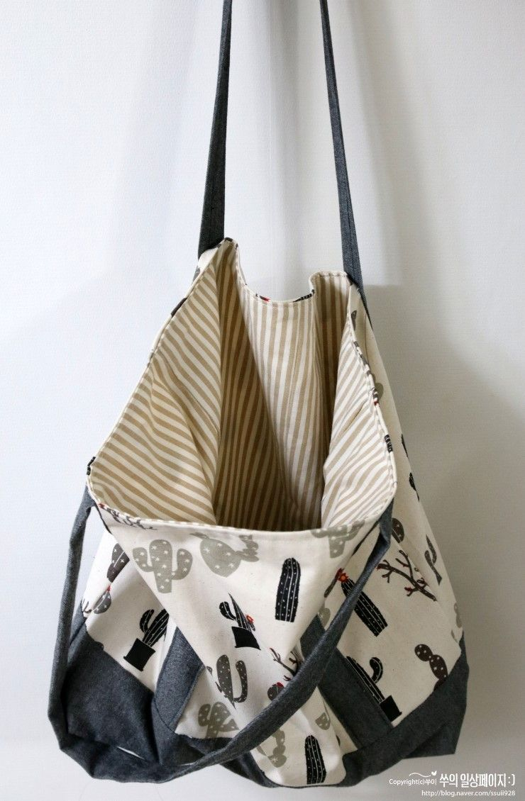Sew your own unique and ecofriendly shopping bags! Sewing