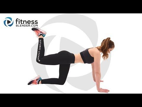 35 Minute Pilates Workout for Butt and Thighs - At Home Pilates Workout - Health & Fitness #pilatesworkoutvideos