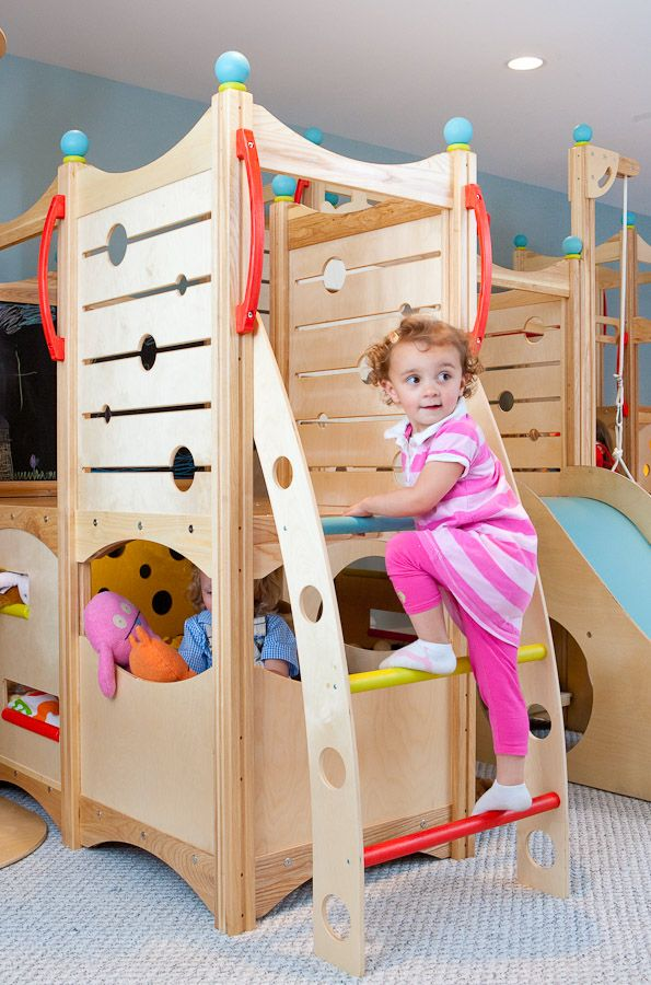 Rhapsody 8 Indoor Playsets And Playbeds | CedarWorks