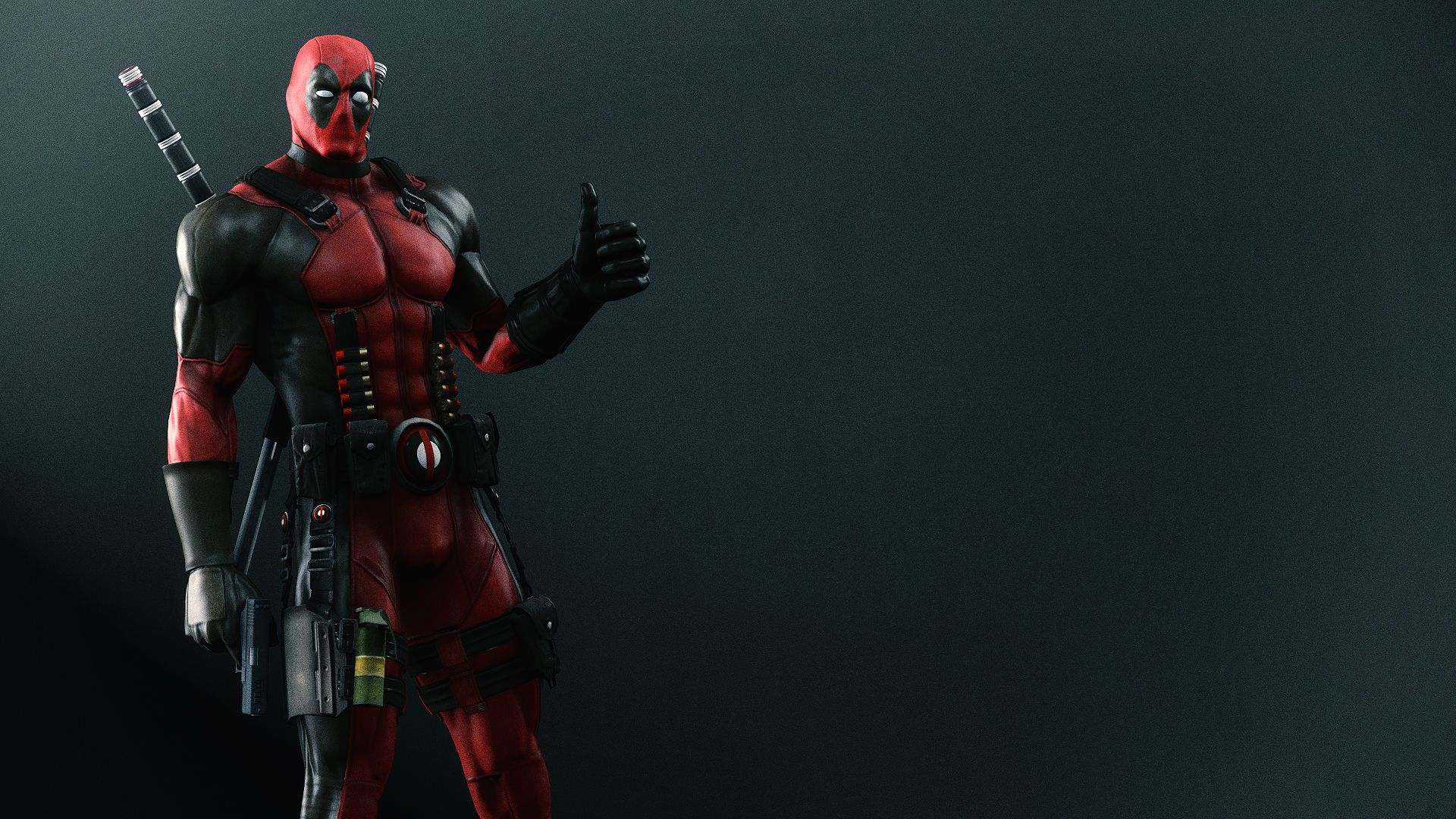 Deadpool Wallpaper By Angryrabbitgmod Deviantart Com On Deviantart