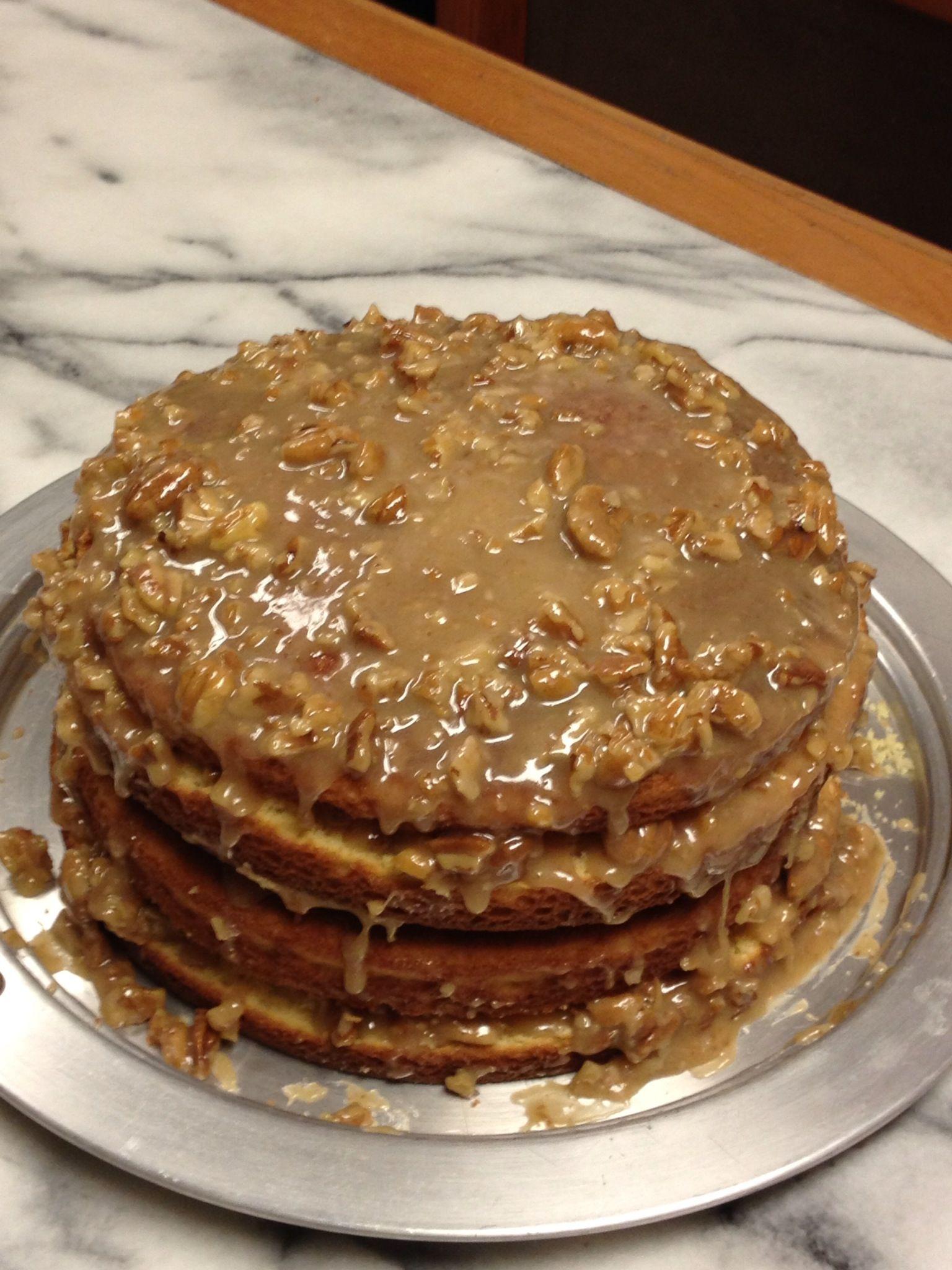 Pecan Praline Cake Recipe
