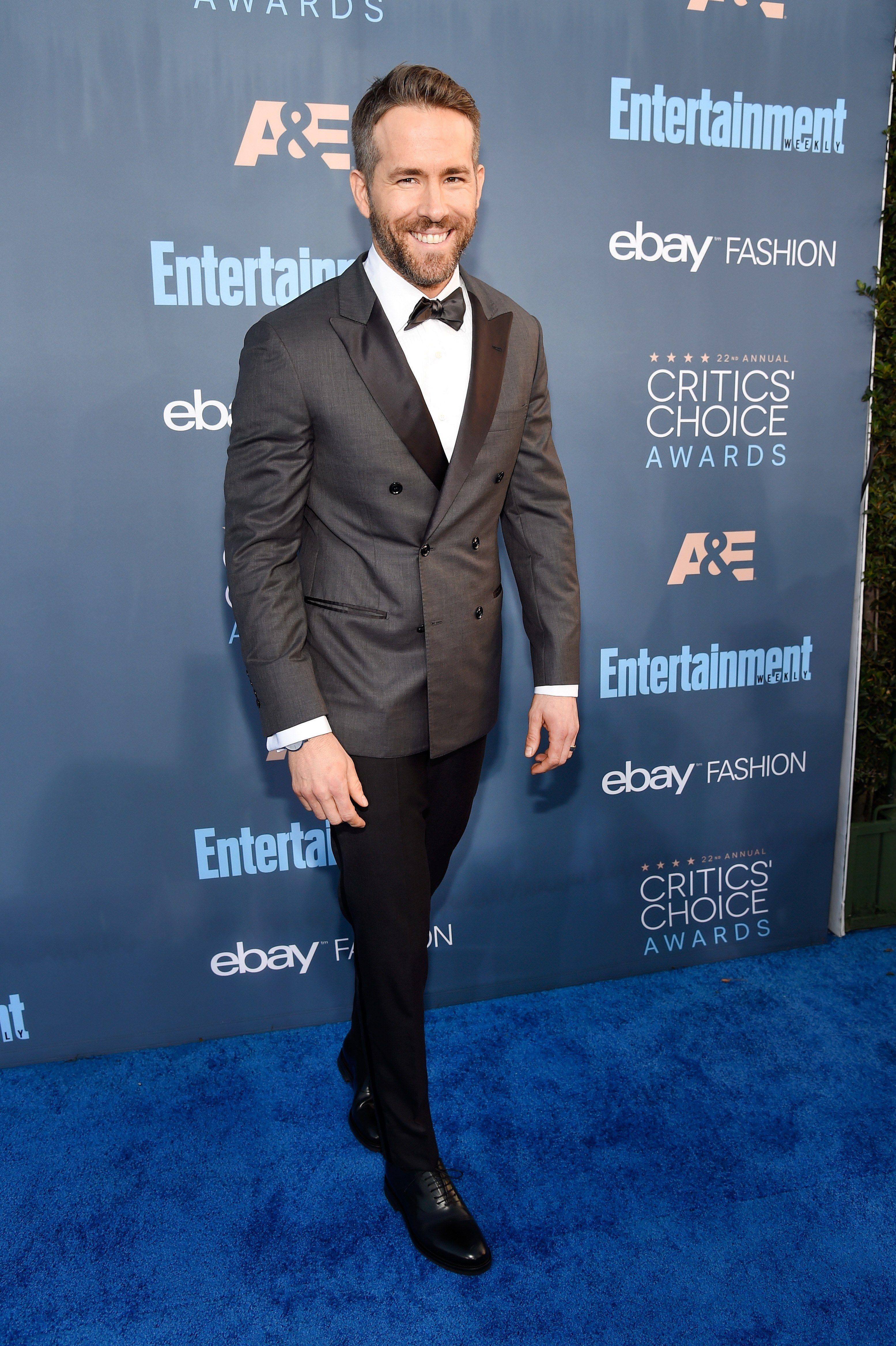Ryan Reynolds At The 22nd Annual Critics Choice Awards On December 11 2016 In Santa Monica California