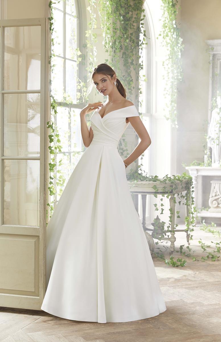 Blu Bridal By Morilee 5712 Bravura Fashion Bridal Prom Boutique Ball Gown Wedding Dress Wedding Dresses Satin Wedding Dress With Pockets
