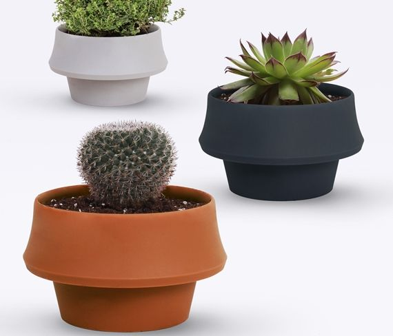 Fold Pot Is A Flower Pot That Can Grow Along With Your Plants