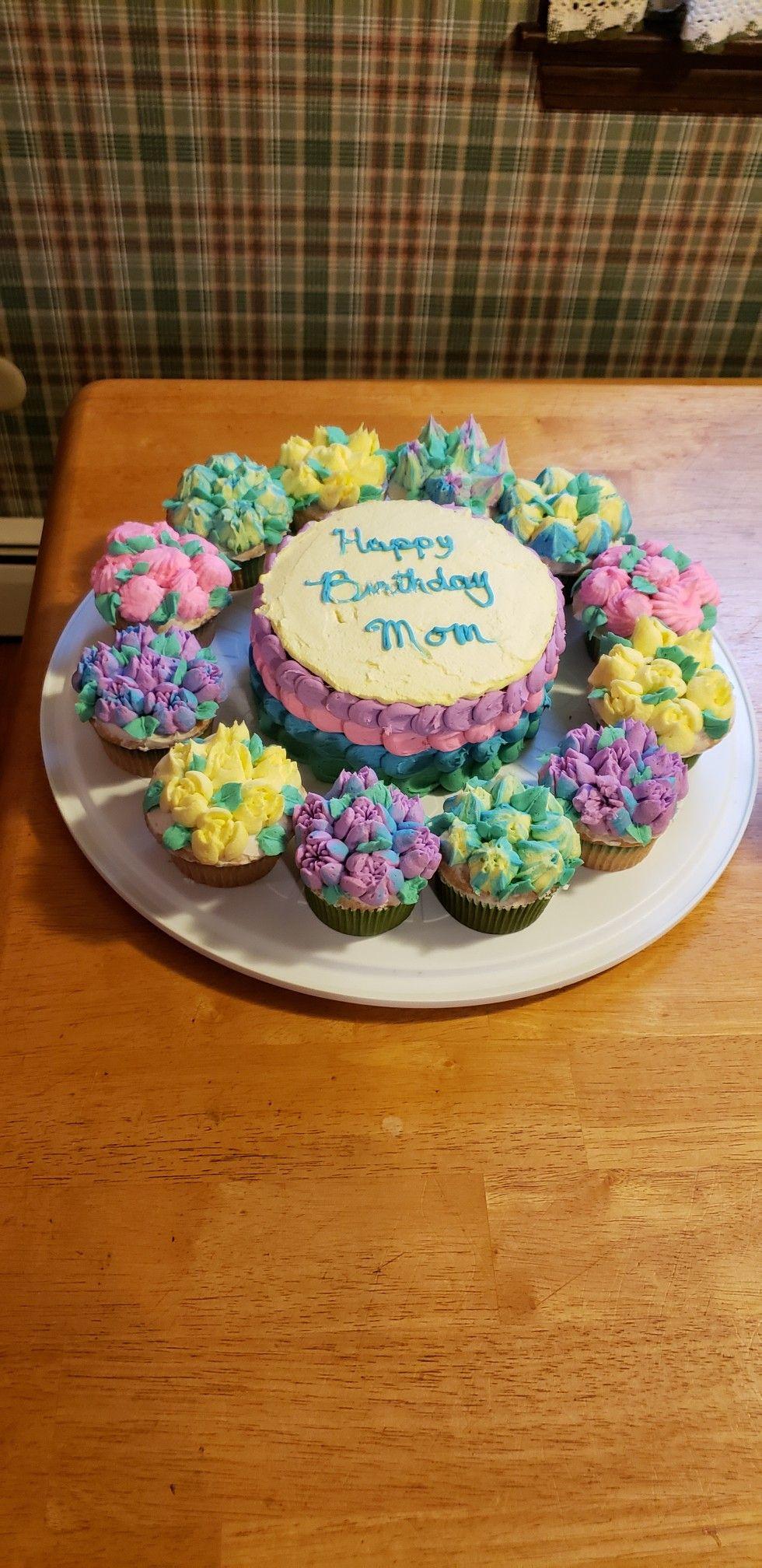 Birthday cake cupcakes in 2020 cake cupcake birthday