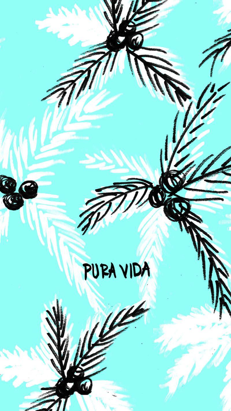 VIDA Statement Clutch - Mermaid and Palm Tree by VIDA tqFJ4n