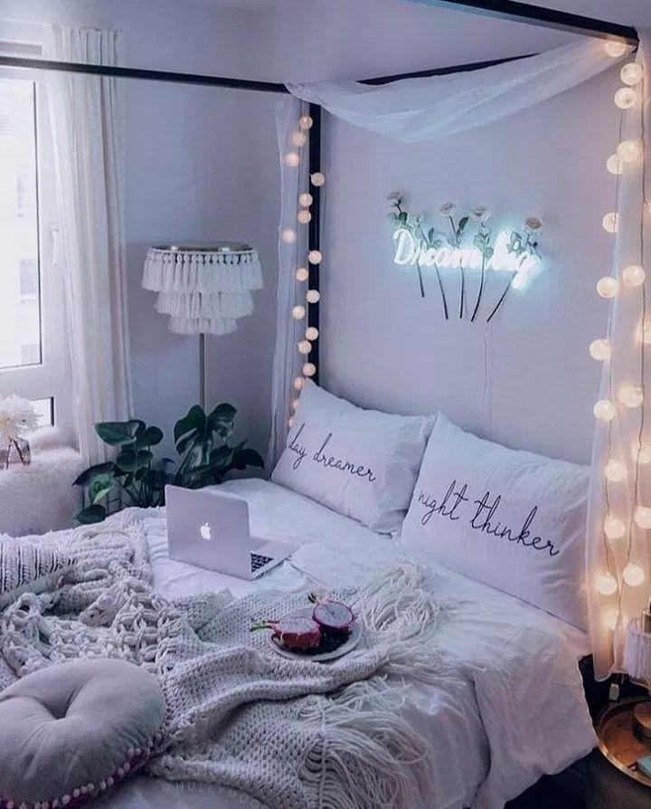 26 Cute Girls Bedroom Ideas for Small Rooms #bedroomideas #bedroomdesign #bedroomdecor ~ Home And Ga… #girldorms