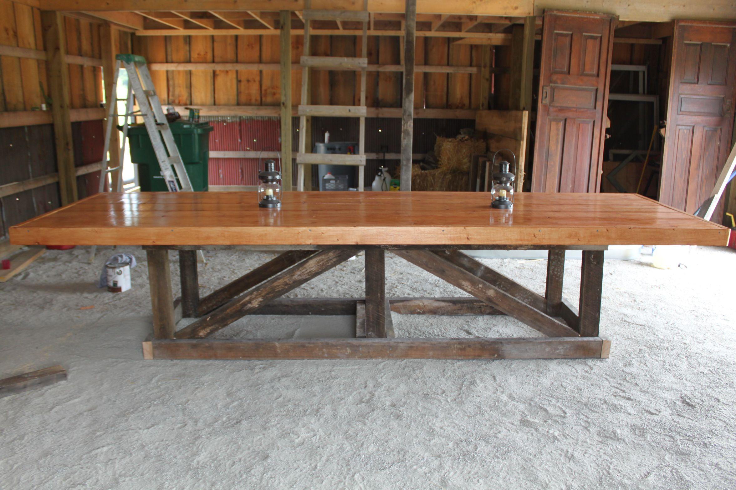 how to make barn wood furniture