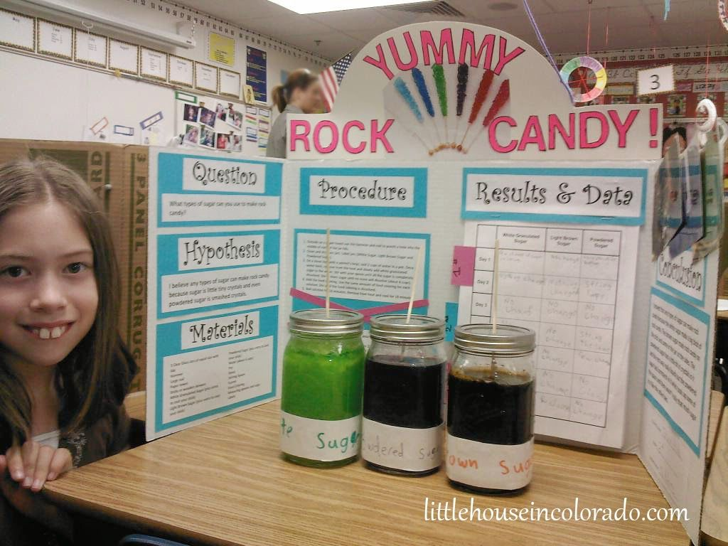Little House In Colorado Sweet Science Fair Project