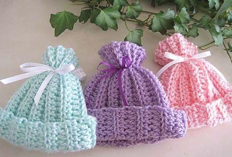 Rib Look Crochet Baby Hat Free Pattern By Charlottemero5