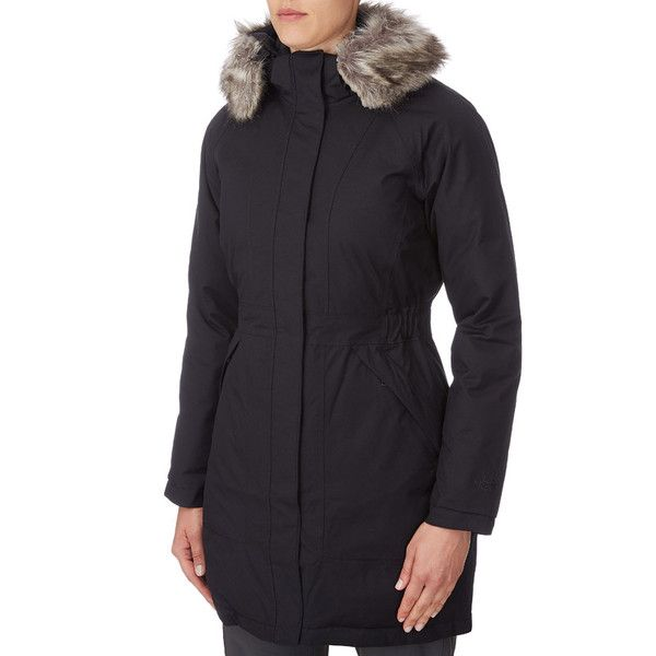 THE NORTH FACE Daunenmantel Arctic Parka Damen schwarz