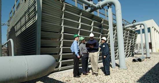 How To Keep Industrial Cooling Towers Clean Cooling Tower