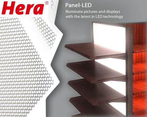 HERA Panel-LED Innovative LED Light Panels for retail design fixtures and displays & HERA Panel-LED Innovative LED Light Panels for retail design ... azcodes.com