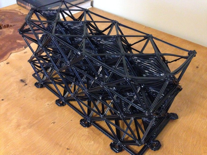 This Architect Designed Wall System Has A 3d Printed Core Wall Systems Design 3d Printing