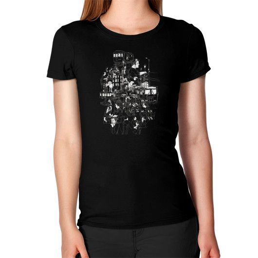 Interlocking lives, lines, and transit lanes Women's T-Shirt