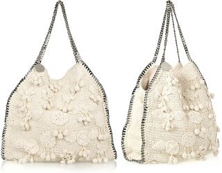 absinthrill: STELLA MCCARTNEY - falabella large crocheted bag