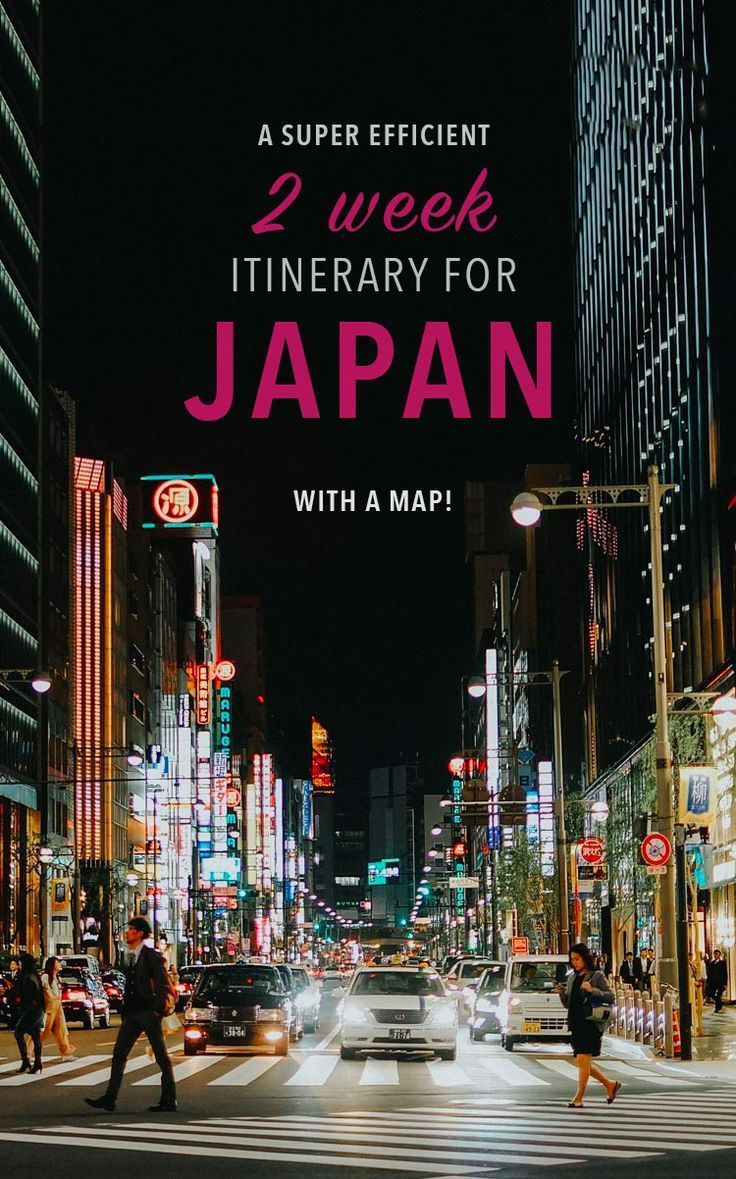 Japan Travel Tips For Your Two Week Trip These Japan Destinations Are Seriously Amazing Includes A Map Japantravel Reisetipps Reisen Japan Reisen