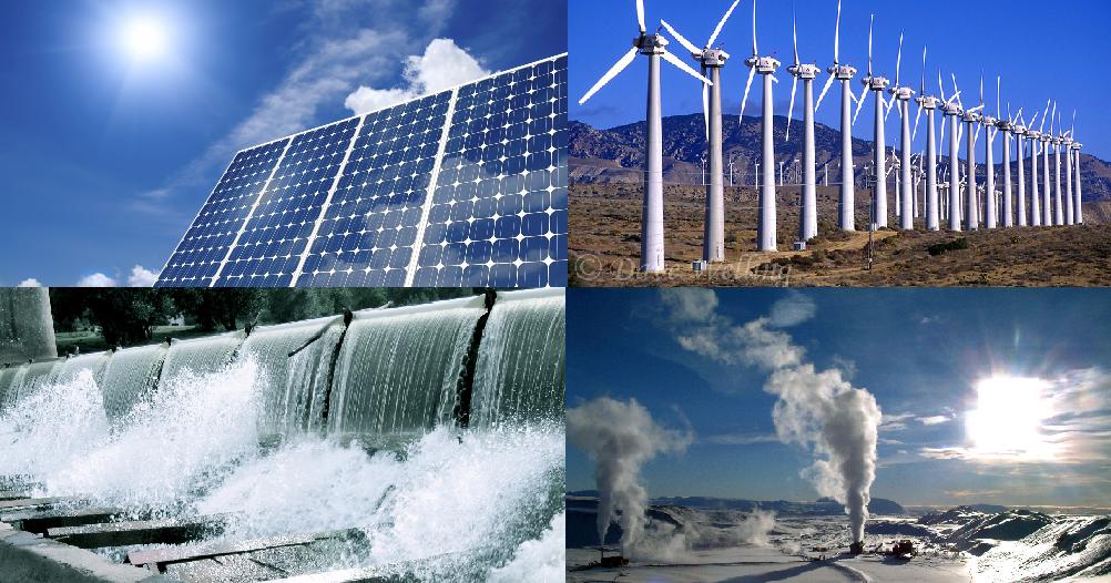 مصادر الطاقة المتجددة مصادر الطاقة المتجددة يقال عنها الطاقة البديلة وهي الطاقة التي يتم استمدادها من