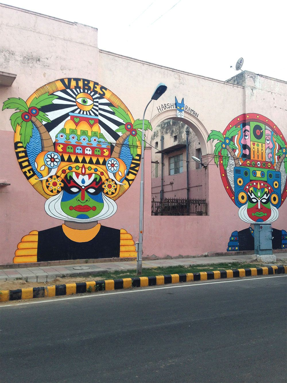exploring delhi\u0027s colourful lodhi art district modern india artlodhi art district delhi street art india harsh raman
