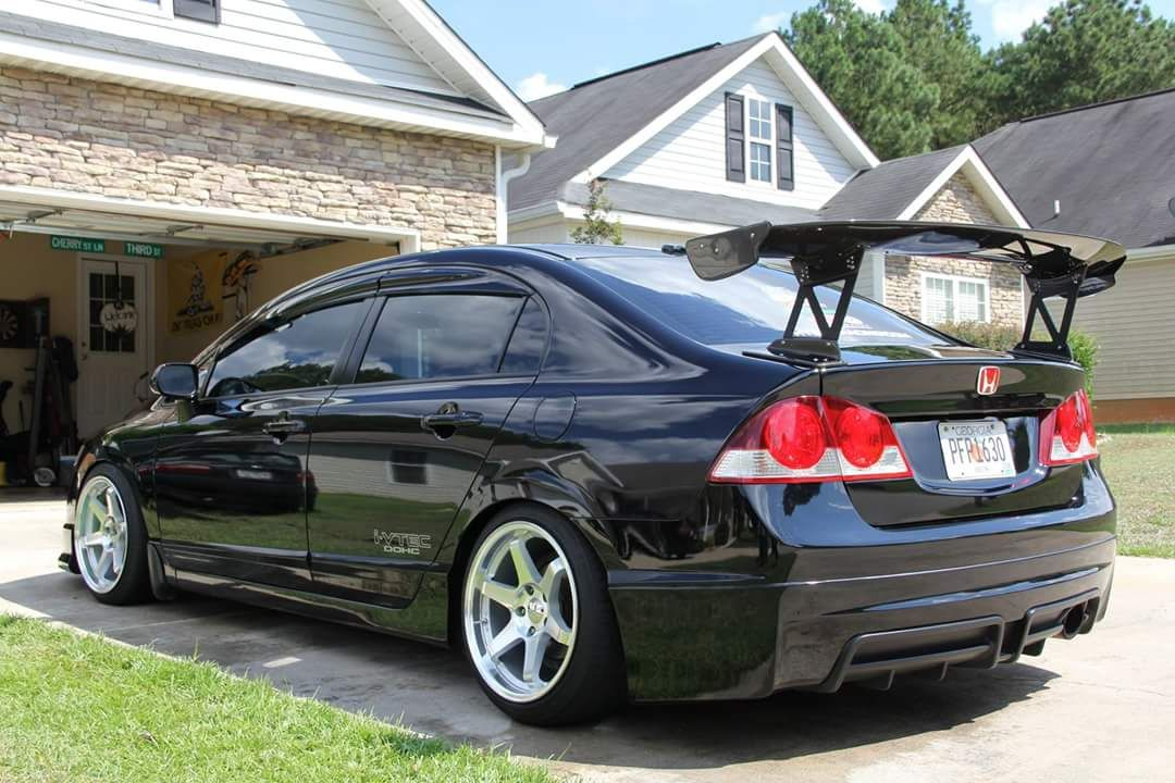 Jdm Rear Conversion With Mugen Lip A Mcconnell Honda Civic Sedan 2006 Honda Civic Honda Civic