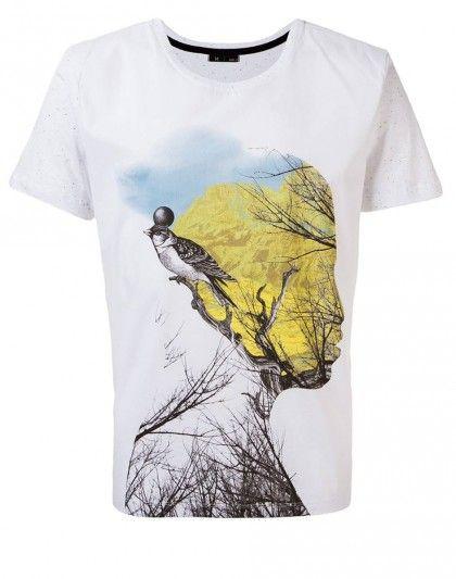 af7433b59 Camisetas Masculinas Alamo. Nova coleção em nossa loja!  tshirt  graphic   illustration  summer  bird