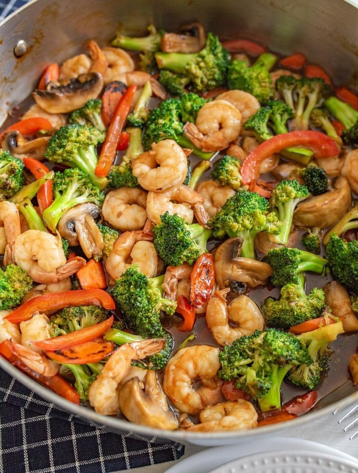 Shrimp Stir Fry — Bless this Mess