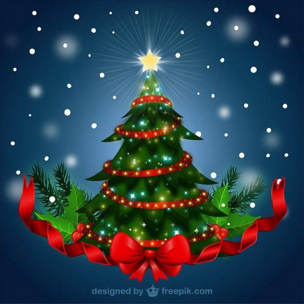 Arbol de navidad fotos y vectores gratis - Imagenes arbol de navidad ...