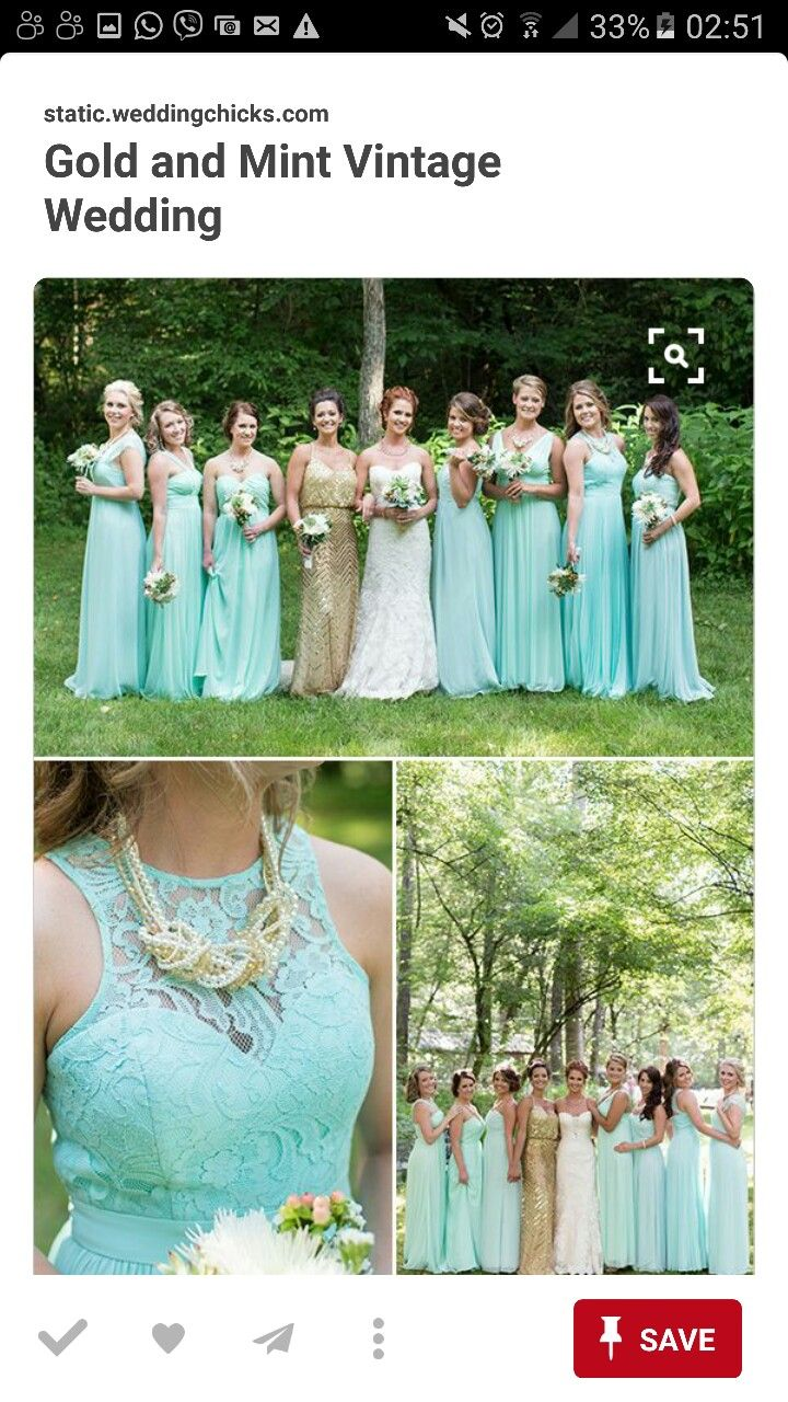 Pin by aleta yao on entourage pinterest entourage mint and gold bridesmaids weddingchicks ombrellifo Gallery