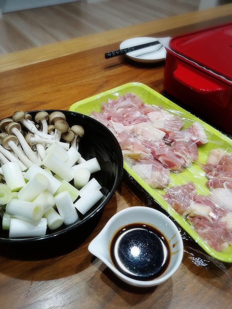 残り晩御飯とてこが噛んだ 晩御飯 焼き鳥 タレ モチ