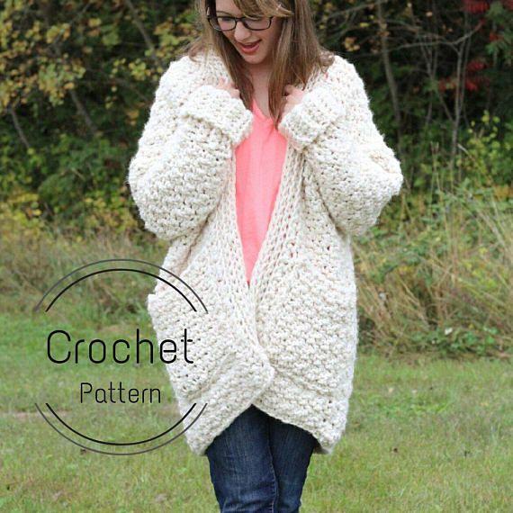 Chunky crochet cardigan pattern free - fermeleycaut.fr 5ec15ccde54