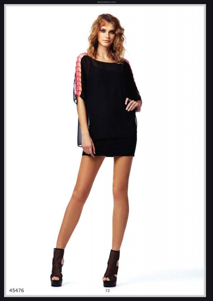 9975a380ecbfd Lamzone yaz kısa gece kıyafeti modelleri y072 2012 | Abiye Elbise ...