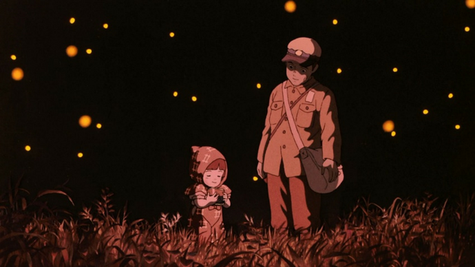 Grave Of The Fireflies Poster Hides A Chilling Secret After All These Years Grave Of The Fireflies Studio Ghibli Movies Studio Ghibli