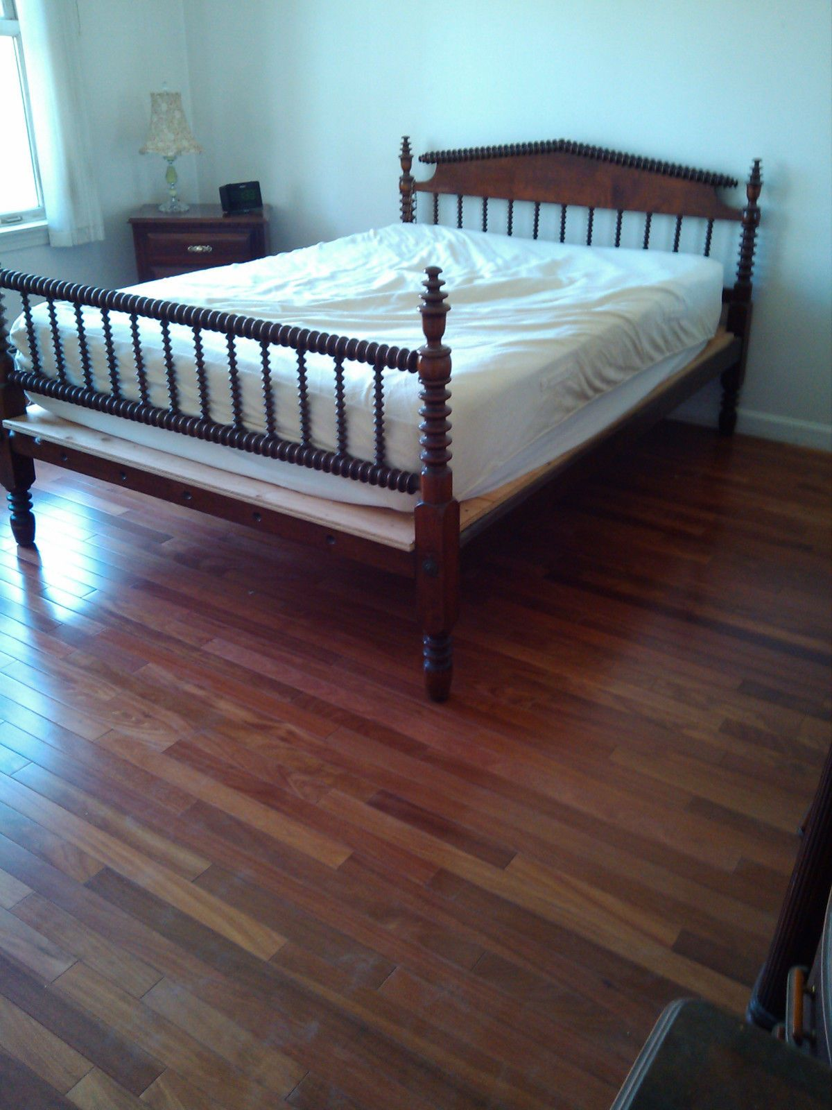 1800's Mohogany Spiral Rope Bed Great Condition eBay