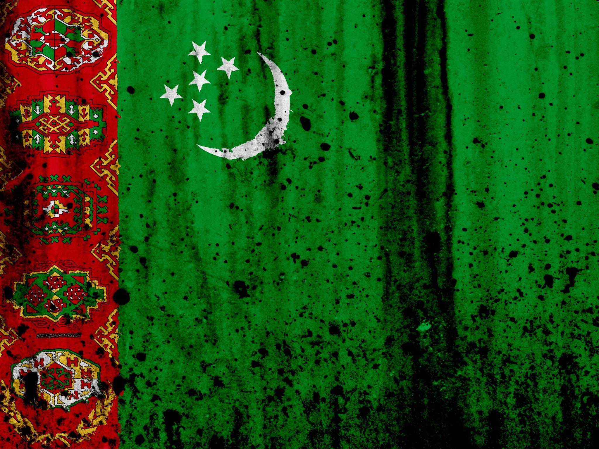 девушка картинка туркменского флага прогресс