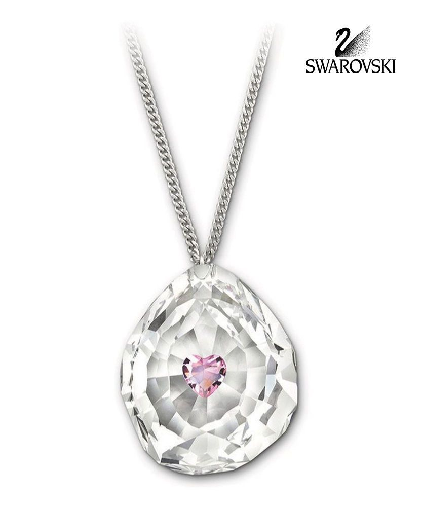Swarovski clear pink crystal jewelry neon heart pendant necklace swarovski clear pink crystal jewelry neon heart pendant necklace 1119255 aloadofball Image collections