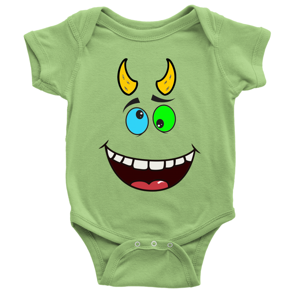 Crazy monsters baby bodysuit halloween baby clothes in