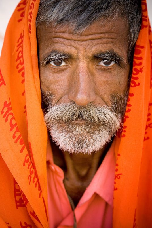 Man in Pushkar, Rajasthan, India - photograph by Jim Nilsen