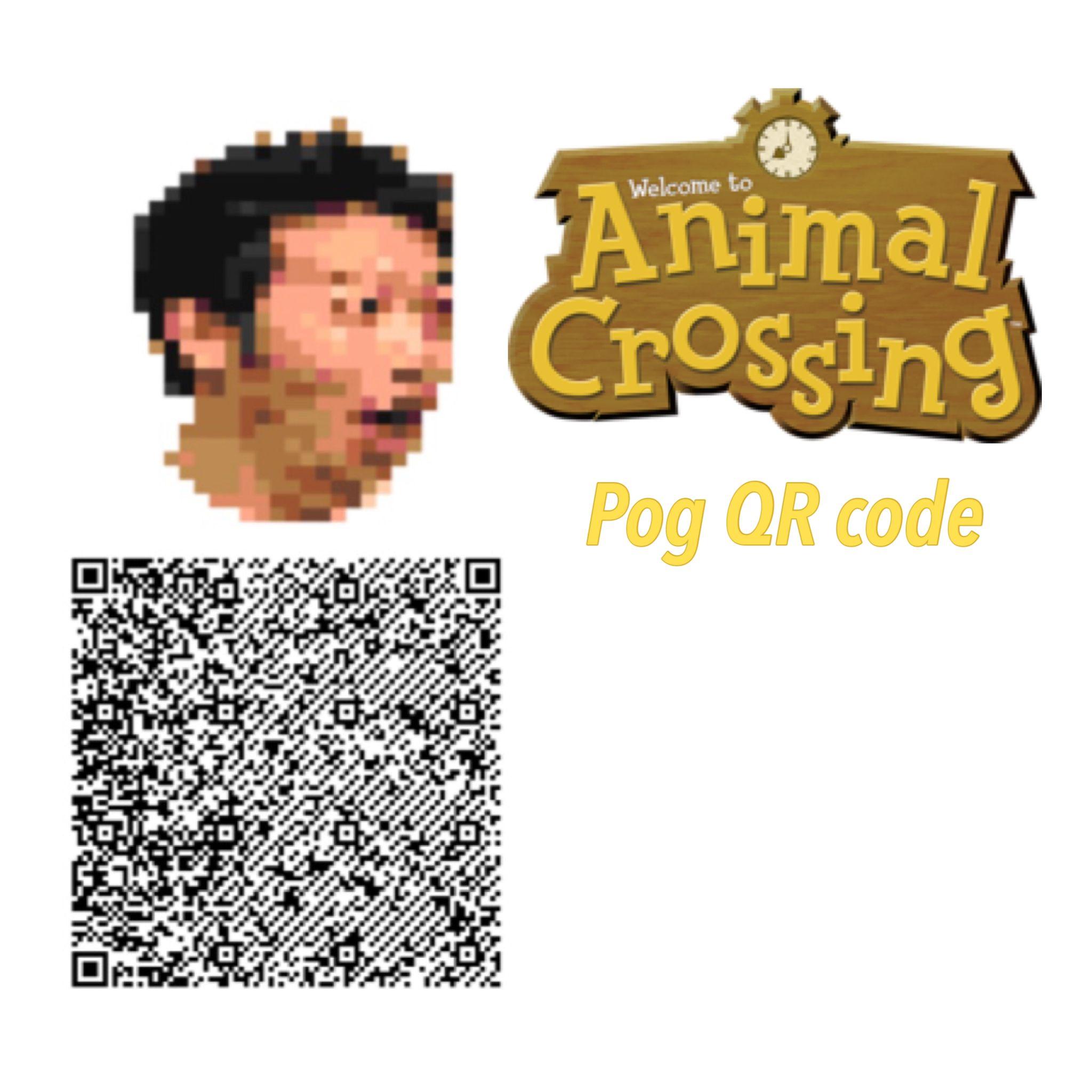 Acnl Pog Qr Code Animal Crossing Animal Crossing Qr Coding