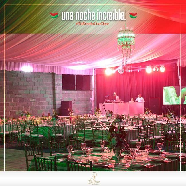 No hay nada mejor que celebrar el mes patrio con una fiesta mexicana, con amigos, compañeros o familia. Nosotros te ofrecemos la renta de jardines y salones para que tu noche sea increíble. Contáctanos y con gusto te brindamos información.  Envíanos un inbox o llámanos (477) 770 90 93 ó 762 30 68. #TuEventoConClase, El Quijote Banquetes.