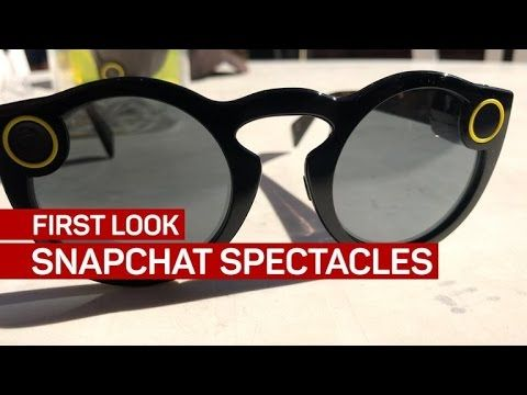 The makers of the popular social media messenger app Snapchat, released a pair of smart glasses that have people going crazy - Meet The Spectacles.