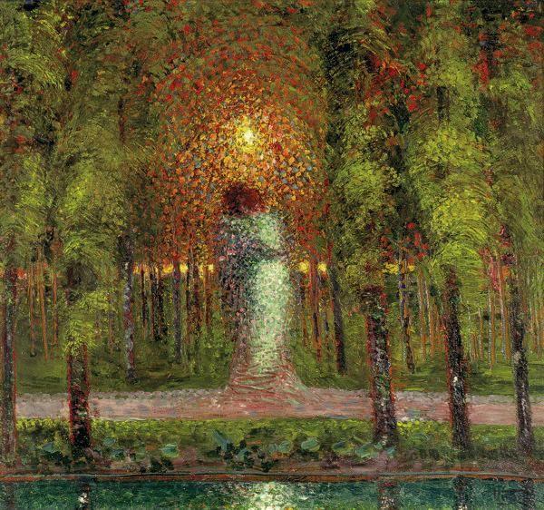 'Gli amanti', 1907, Gerardo Dottori