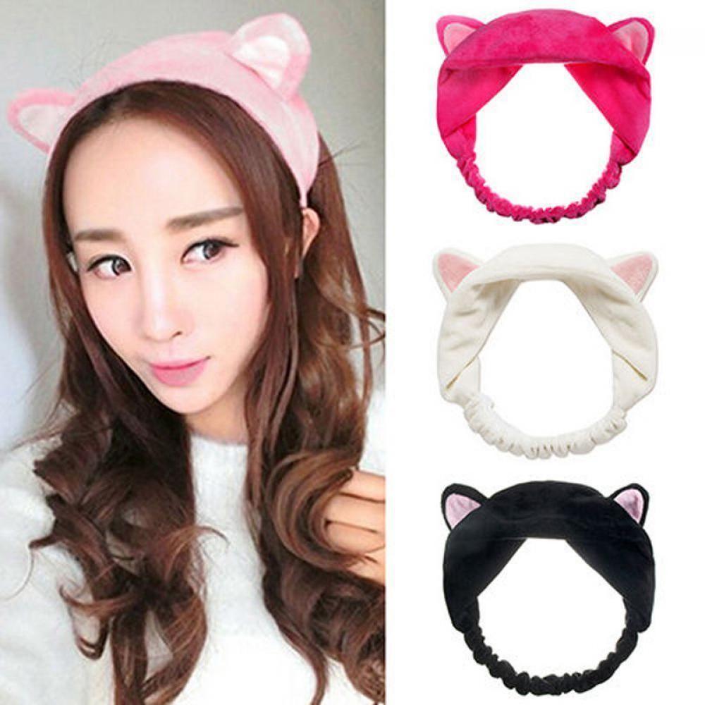 Cat Ear Headband Diadema De Orejas De Gato Accesorios Para El Cabello Accesorios Para El Pelo
