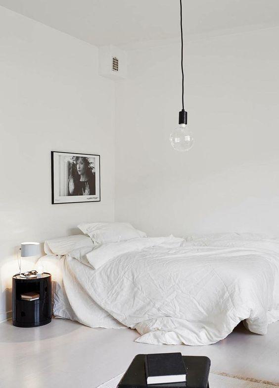 48 Dreamy Minimal Rooms That You Will Love Daily Dream Decor Enchanting Deco Bedroom Minimalist Interior