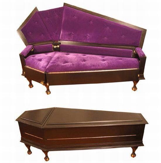Coffin Couch Style Pinterest