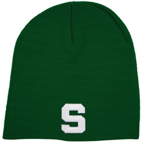 NCAA Top of the World Michigan State Spartans Green Easy Does It Knit Beanie Top of the World. $9.95